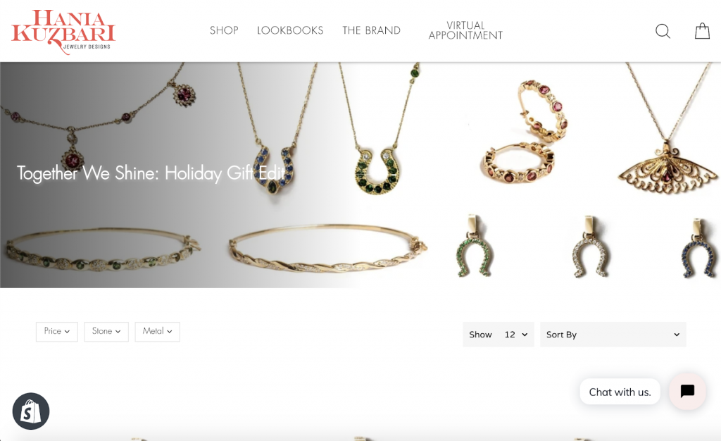 Hania Kuzbari Fine Jewelry Matte PR Holiday Gifts