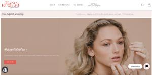 Hania Kuzbari Matte PR Fine Jewelry Ecommerce